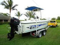 22' Center Console w/Mercury 175hp 2-Stroke outboard,