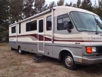 35 ft 1994 pace arrow. Ford 460 motor, Onan 7000