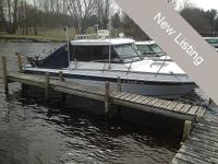 1994 Penn Yan 255 Intruder Boat with trailer, totally
