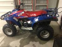 1994 Polaris 400 2 Stroke New top end, Wisco pistion,