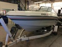 1994 Rinker 190 Captiva This boat is powered by a 4.3L