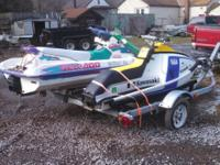 Up for sale is a 1994 Seadoo Bombardier jet ski with