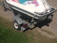 1994 Seadoo SP with galvanized trailer and cover