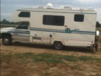 This is a great 1994 dodge ram 3500 Scotty motor home.