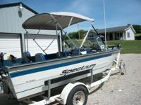nice water ready boat ready to go new seats top gps cb