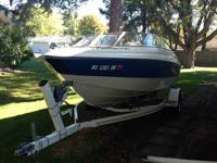 1994 StarCraft 18' open bow, seats need re covered, 4.3