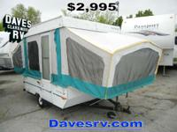 1994 Starcraft RVs Comet 817 LIGHTWEIGHT FOLDING CAMPER