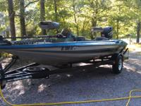 1994 STRATOS PRO XL BASS BOAT150HP EVINRUDE INTRUDER