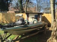 Selling a 18 ft 1994 Stratos bass boat. Motor is a 150