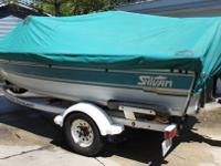 Up for sale 1994 sylvan pro select 16ft fishing /