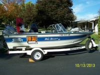 1994 Sylvan Pro select v17 with 115hp Mariner 2 stroke