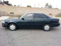 Vehicle Description:1994 Toyota Camry LE Sedan 4D,