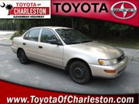 Options Included: N/A1994 Toyota Corolla DX. 5 speed,