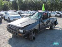 Options Included: N/AToyota Pickup Pickup L4 2.4L -