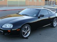 1994 Toyota Supra original turbo 6-speed targa top with