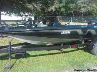 For sale: 1994 Tracker Nitro 16' Bass Boat with a