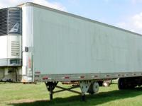 1994 Utility brand 48 reefer semi-trailer, with swing