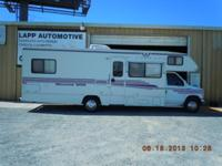 Excellent condtion, only 41,000 miles, kitchen, stove,
