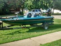 1994 17 ft R72 Ranger Bass Boat with 115 motor.$5500.00