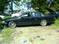 FOR SALE 1994 CHEVY IMPALA SS PARTS ONLY. THE VEHICLE