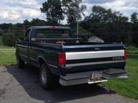 1994 Ford F150 V8...The back bumper has very minor