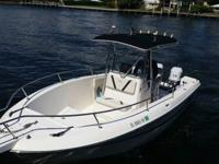 WELL MAINTAINED 23' HYDRA SPORTS 1994 TWIN 1998 150