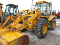 1994 JCB 214S SIEVERS-HAMEL 4x4 4 WHEEL STEER CAB W/