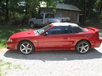 this is nice 94 mustang gt sleen mustang it has a NEW