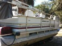 Newer motor than boat is. Runs well. Interior needs to