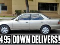 1994 Toyota Camry 4dr Sedan LE V6, 3.0 L, Automatic FWD