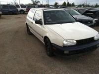 Parting out a 1994 VW Golf III two door.  This car has