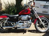 95 Sportster.  1200cc engine. Just came back from the