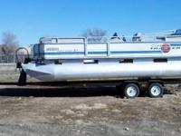 I have a 1995 21ft Sun tracker Pontoon Party Barge for