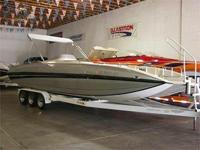 1995 28' Conquest Deckboat Cat Hull, 540 BB Chevy,