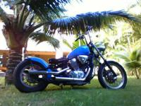 1995 - 600 Custom Built Shadow New Paint Job Bobber
