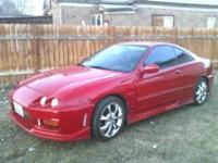 1995 Acura INTEGRA with body kit .. 5 speed. 2 door.