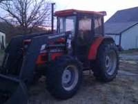 Agco 6680; 39xx hours; mfwd; quicke 340 loader with