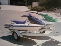 These 2 water boats are vary fun to ride. Top speed is