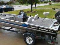 1995 Bass Tracker Pro 17 with 40hp Mercury that runs