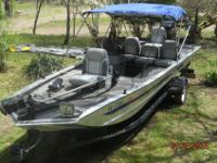 Bass Tracker Tournament Pro 18Excellent Condition and