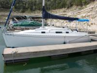 1995 Beneteau First 265.  Fresh water only sailboat.