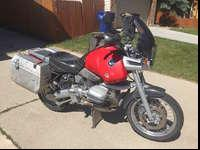 1995 R1100 GS 83,5000mi. runs good and has been well