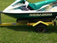 Two seater jet ski,this one does not have reverse,new
