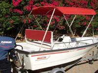 Year:1995 Engine Type: OutboardMake: Boston Whaler