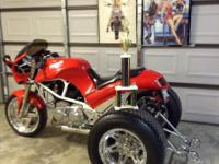 1995 Buell S2 Thunderbolt. Owned since 1997.Turned into