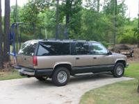 C2500 two wheel drive suburban with 195,000 miles. 6.5
