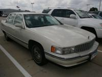 Options Included: N/A1995 Cadillac Deville Base with
