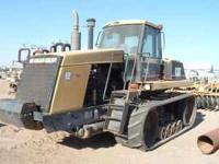 1995 Cat 75c Challenger (crawler), 9,800 hrs - $37,500