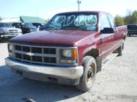 1995 Chevy 1500 Ext Cab 4x4 Maroon, 228200 miles, 8