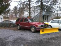 1995 blazer with Fisher minute mount plow with new